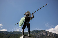 Spartan at Thermopylae